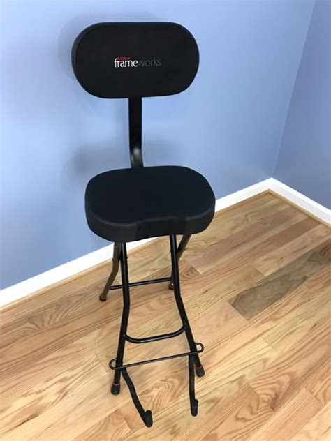guitar stool with backrest guitar stools with backrest sc 1 st musicianu0027s friend