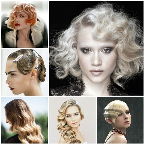 Finger Wave Hairstyle Hair by Retro Finger Wave Hairstyles 2016 2017 Haircuts