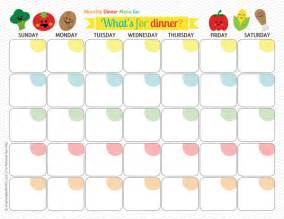 monthly dinner menu template palmer ponderings monthly meal planning