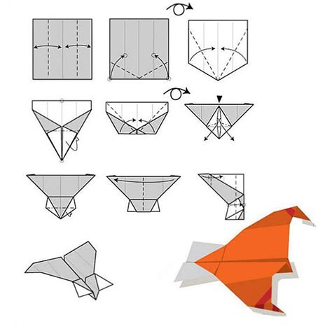 Ways To Fold A Paper Airplane - easy rc folding paper airplane hm830 us 28 59