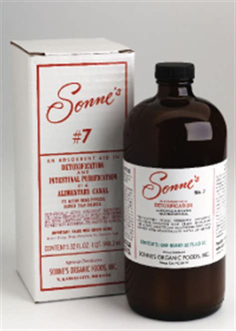 Sonne S No 7 And 7 Detox by Sonne S 7 Detoxification 21 99 Zen Cart The Of