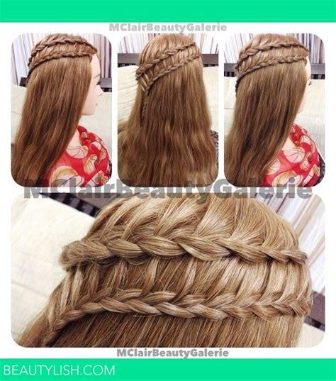 how to do a ladder braid step by step lace braid for ladder braid clairine f s photo beautylish
