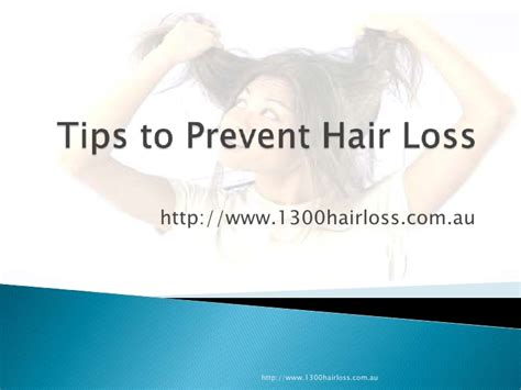 10 Tips On How To Prevent Hair Loss by Tips To Prevent Hair Loss