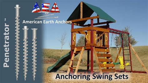 swing installation swing set installation youtube