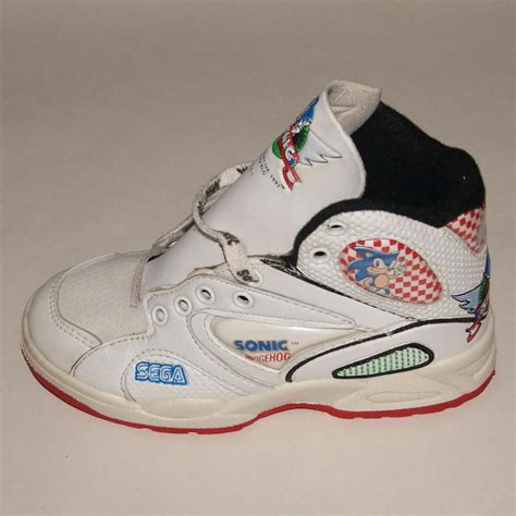sonic shoes for sega sonic the hedgehog sneakers 1991 defy new york