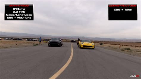 how fast is a corvette how fast is a corvette c7 z06 a t burning e85 fuel