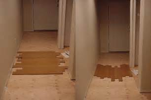 direction to install hardwood floors ceramic tile advice