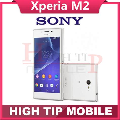 Flexibel Sim Card Sony M2 Single Ori unlocked original xperia m2 d2303 cell phones android os 4 8 inch touchscreen 8mp free