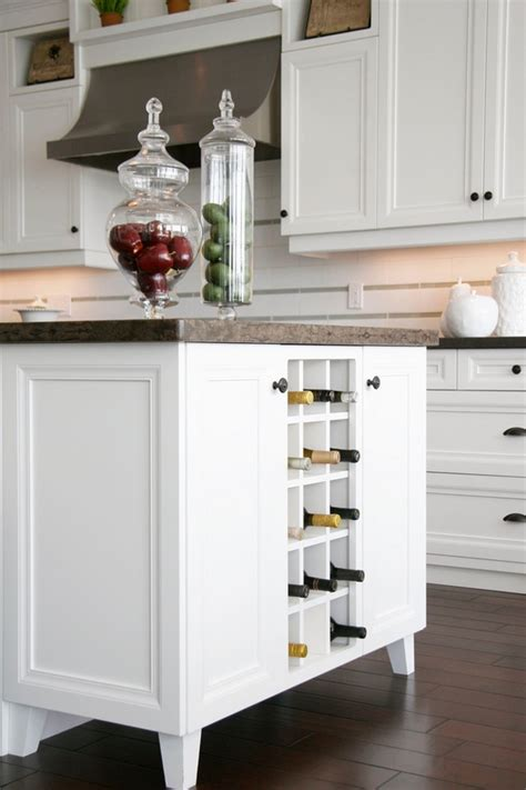 Kitchen Island Storage by Modern Wine Racks An Impressive Decorative Element In The