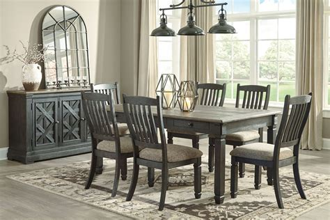 7 dining table gray dining table and chairs gray wash dining table 7
