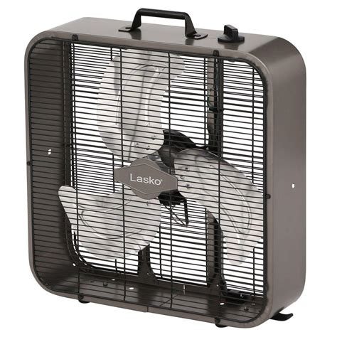 lasko fans home depot lasko 20 in metal box fan b20725 the home depot