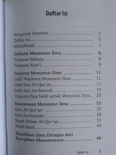 Buku Islami Ala Pesantren Salaf buku saku metode menuntut ilmu ala salaf