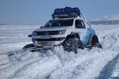 volkswagen snow sochi winter olympics reveals world s coolest vw monster