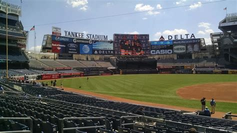 section 125 yankee stadium yankee stadium section 125 new york yankees