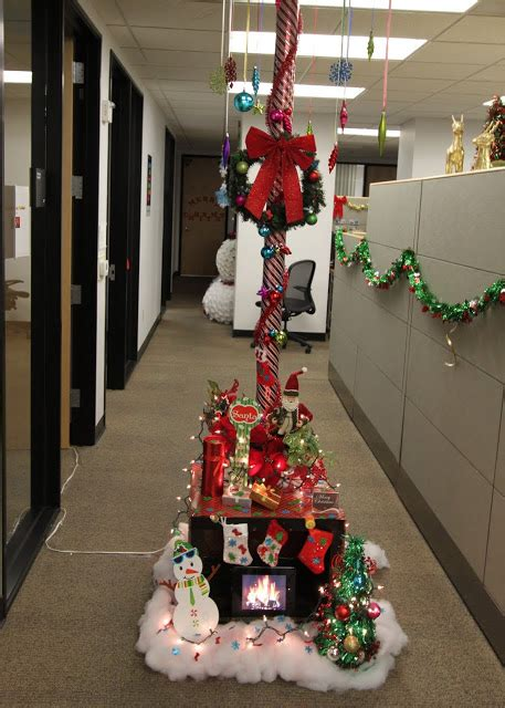 christmas decoration compitition the office pole decorating contest mid century modern remodel