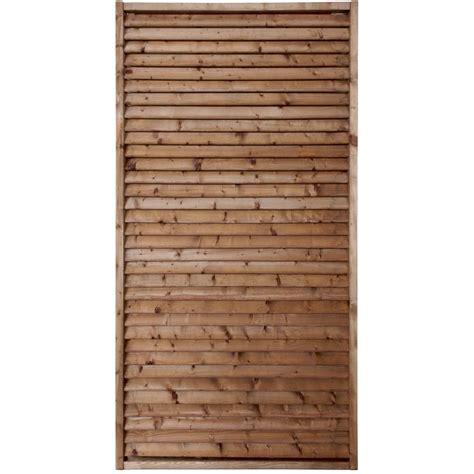 panneau bois persienn 233 vera l 90 cm x h 180 cm marron