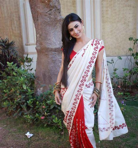 nagin 2 serial moni roy sari hd image mouni roy beautiful hd wallpaper latest 2018