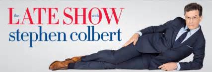 picture of the late show with stephen colbert
