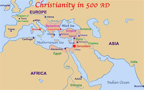 sections of christianity image gallery origin of christianity map