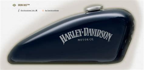 Harley Schriftzug Aufkleber by Breite Tankaufkleber Iron S 1 Milwaukee V