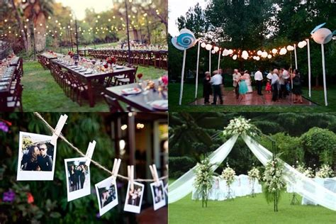 backyard wedding centerpieces camo wedding decoration ideas art deco wedding ideas