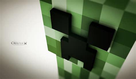 minecraft creeper wallpaper desktop gamers wallpaper p