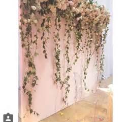 Wedding Wall Decor by Best 25 Flower Wall Backdrop Ideas On Flower
