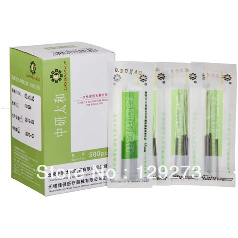Disposible Nedel Onmed aliexpress buy disposable sterile acupuncture needle zhenjiu needle for single use 500