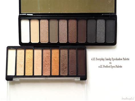 E L F Need It Eyeshadow Palette e l f everyday smoky eyeshadow palette review makeupfu
