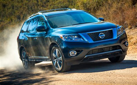 blue nissan revealed 2013 nissan pathfinder production suv in photos