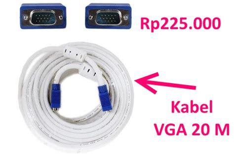 Jual Kabel Vga Pendek harga jual kabel vga 10 20 meter untuk komputer dan