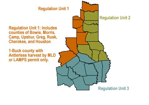 piney woods texas map pineywoods regulatory unit 1 harvest trends