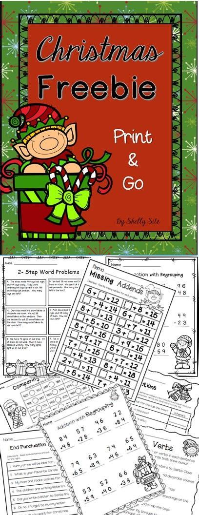 2nd grade grammar christmas 1000 ideas about math on math worksheets maths