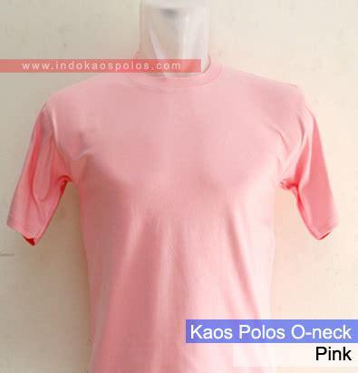 Kaos Pink Muda Polos grosir kaos polos kaos polos jual kaos polos grosir