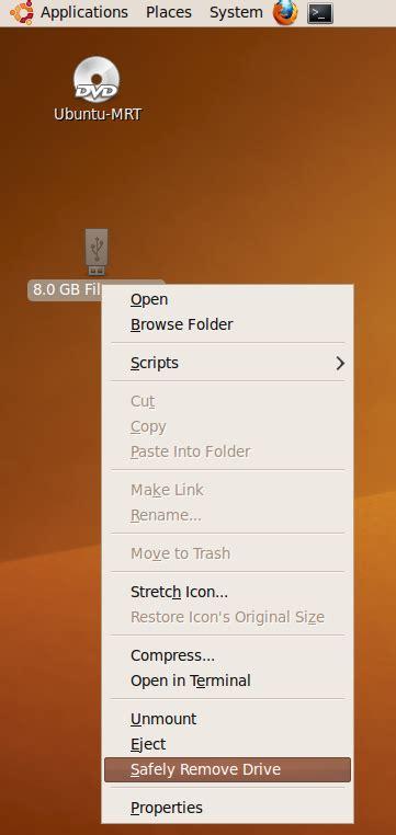 come installare ubuntu su una pen drive come installare ubuntu mrt su pendrive usb notageek it