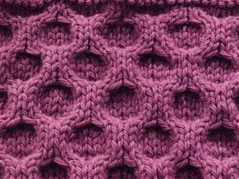 how to knit honeycomb stitch honeycomb knitting patterns a knitting