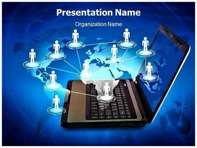 information technology powerpoint template powerpoint