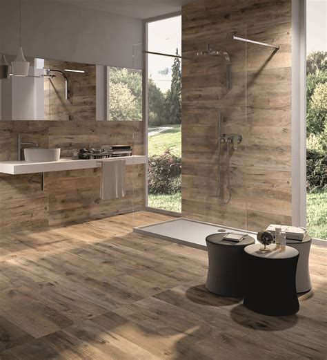 rustic bathroom tile wood look tile 17 distressed rustic modern ideas
