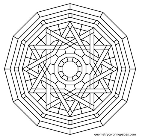 color because 18 patterns to color books geometry coloring page elemental coloring pages