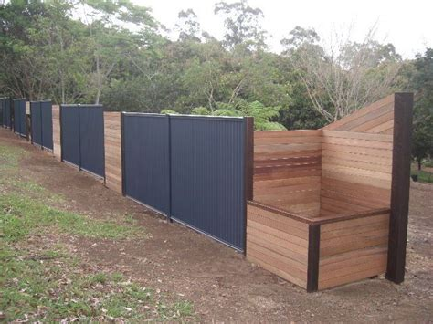 Colorbond Planter Boxes by 10 Best Images About Colourbond And Timber Fence On