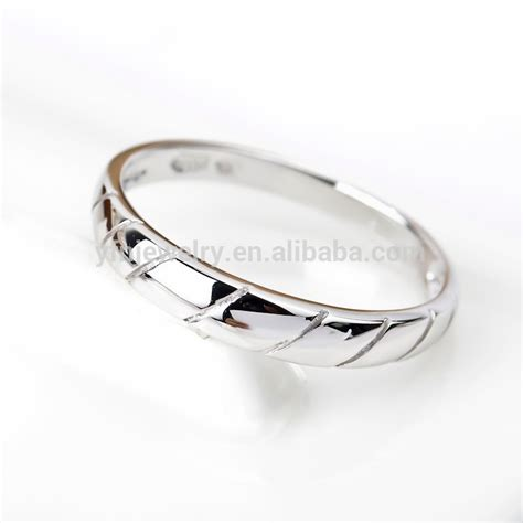 simple and unique sterling silver ring silver jewelry for