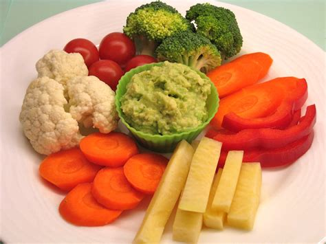 vegetables plate vegetable plate