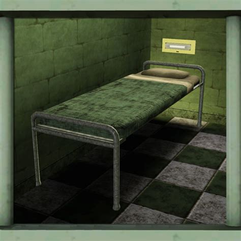 jail beds cyclonesue s prison bed or bottom bunk