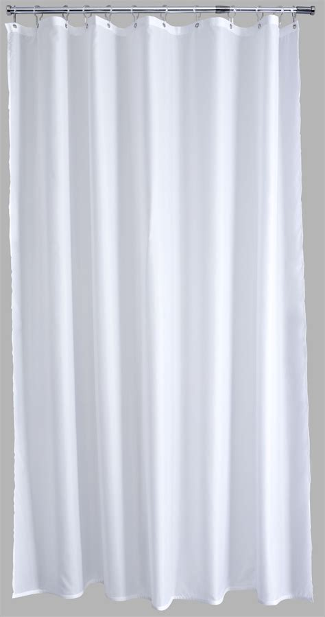 longer shower curtain white long shower curtain
