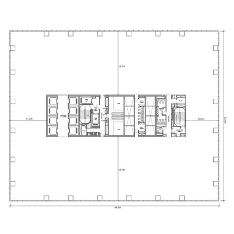 office tower floor plan world of architecture new loreal office building by iamz