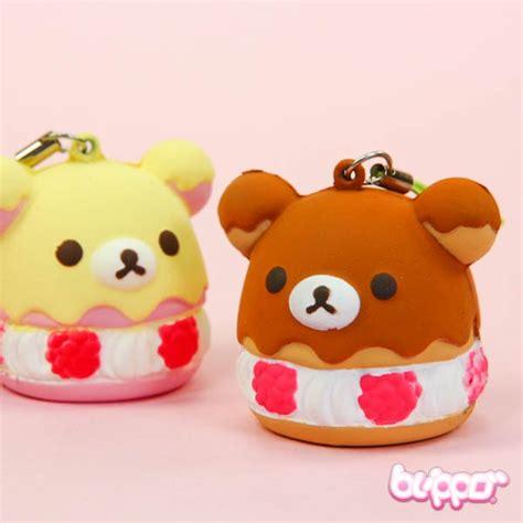Squishy Rillakuma Cake buy rilakkuma squishy dessert charm free shipping