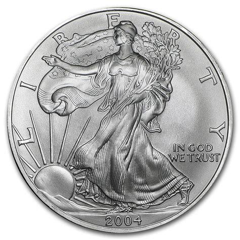 1 Oz Silver American Eagle Bu by 2004 1 Oz Silver American Eagle Bu Silver Eagles West