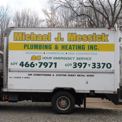 Plumbing Services Nj by Michael J Messick Plumbing Heating Air Lambertville