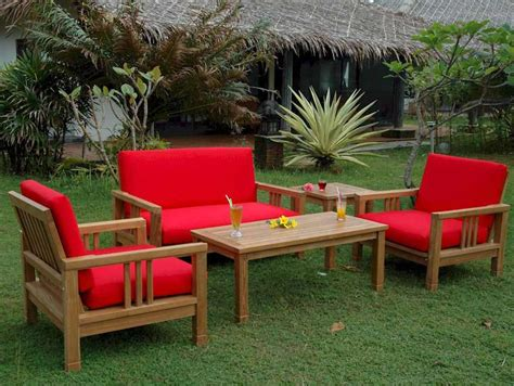 patio furniture woodland wood patio furniture sets home outdoor