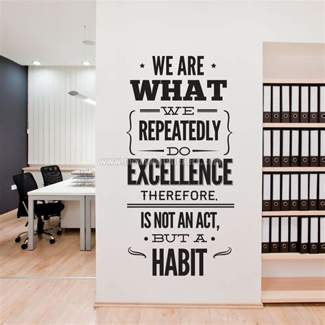 Inspirational Office Decor by Office Decorative Accessories Inspirational Wall Stickers